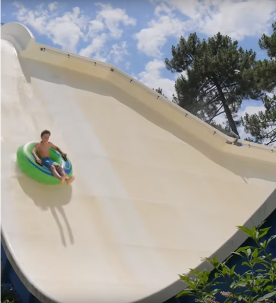 Attraction du Parc aquatique Aquatic Landes