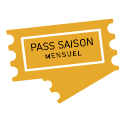 Dans notre boutique en ligne Aquatic Landes, parc aquatique dans le Sud Ouestde la France, réserver votre Pass saison Mensuel.
